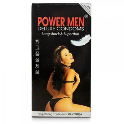 Giá bán Hộp Bao cao su Power Men Long Shock and Super Thin chính hãng